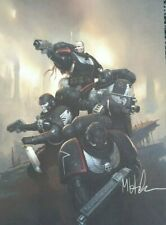 Kill Team - Organisted Play - Promo - Limitted Edition Raven Guard Print  A4