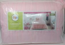 Circo Basic Collection 5 Piece Bed Set Twin Size Pink and White New