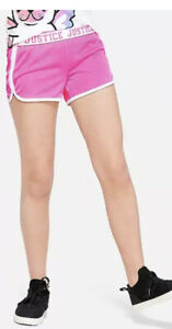 Justice Girls Pink Mesh Athletic Shorts Size 12 💗💗💗