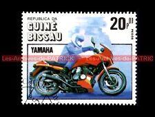YAMAHA XJ 600 1984 - Guiné BISSAU - Guinée BISSAO : Timbre Poste Moto