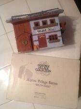 Dept 56 Alpine Village Series Milch-Kase #65404 Original Box Retired
