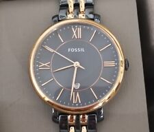 Fossil Jacqueline Ladies Watch With 34mm Brownish Grey Tone Face