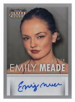 EMILY MEADE / 2015 Panini Americana Trading Card Autograph S-EM / THE LEFTOVERS