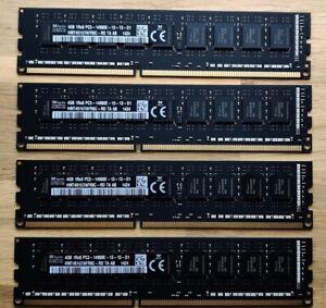 16GB RAM for Apple 2013 Mac Pro 4 X 4GB modules DDR3  HYNIX HMT451U7AFR8C-RD PC3