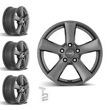 4x 16 Zoll Alufelgen für Honda HR-V / Dezent TX graphite 7x16 ET40 (B-1300849)
