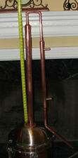 "30"" Copper Column with adapter, Alcohol Moonshine Ethanol Still E-85 Reflux"