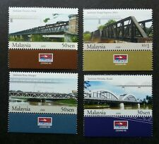 Bridges Of Malaysia 2008 Building Architecture Landmark (stamp with logo) MNH