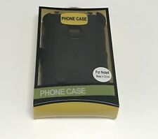 For Samsung Galaxy Note 4 Case Cover (Belt Clip Fits OtterBox Defender)Black