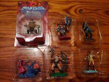 MOTU complete Mini Figure Lot He-Man Skeletor Tri-Klops TrapJaw Teela Orko