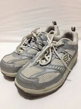 Womens Size 7 Skechers Shape Ups Rockers Shoes Sneakers Tennis Walking Gray