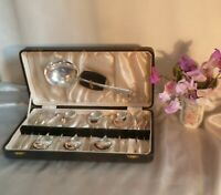 1930's Art Deco Silver Plated Desert Cutlery Service-Spoons?Forks?Serving Spoon