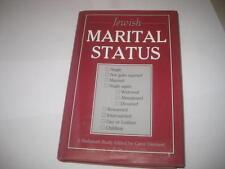 Jewish Marital Status: A Hadassah Study edited by Carol Diament