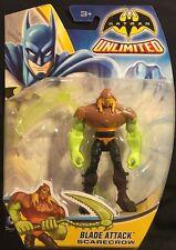 Batman Unlimited Blade Attack Scarecrow Action Figure New 2014 Mattel
