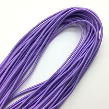 5yds Light purple Trong Elastic Bungee Rope Shock Cord Tie Down Jewelry Making