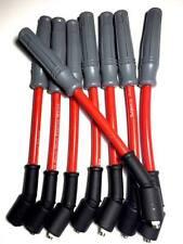 10.2MM RED SPARK PLUG WIRES SET CHEVY GMC TRUCK 4.8 5.3 6.0 VORTEC ENGINES