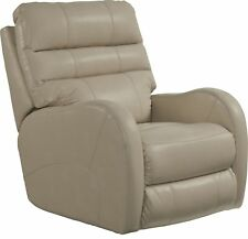 Catnapper Searcy Power Wall Hugger Recliner with USB Port in Parchment