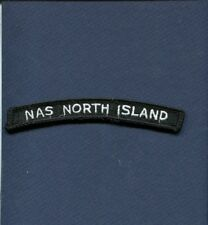 NAS NAVAL AIR STATION NORTH ISLAND US NAVY Enlisted Uniform Squadron Patch