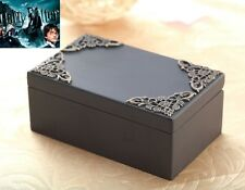 Black Vintage Rectangle Music Box :  Hedwig's Theme Soundtrack