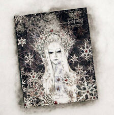 The Snow Queen by Hans C. Andersen Unique Illustration Hard Cover Korean Book