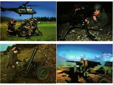 MILITAIRE MILITARY GUERRE SOLDATS 160 MODERN CP