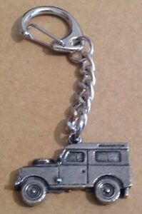 4x4 Land Rover Quality Pewter Keyring