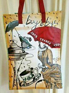 Trader Joe's Bag Washington State Seattle Reusable Grocery Eco Tote Shopping TJs