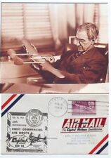 William B. Stout Aircraft, Automotive Designer Ford Trimotor Autograph ''Rare''