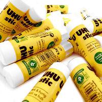 Uhu Glue Stick 8.2g All Purpose Glue - Solvent Free - Pack of 12