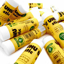 Uhu Glue Stick 8.2g All Purpose Glue - Solvent Free - Pack of 12