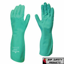 CHEMICAL RESISTANT GLOVES NITRI-SOLVE SHOWA/BEST MFG 730 SIZE SMALL CLEANING