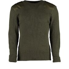 WOOL NATO / ARMY JUMPER. WOOLLY PULLY. OUTDOOR,UNIFORM,SECURITY,MILITARY, #09025