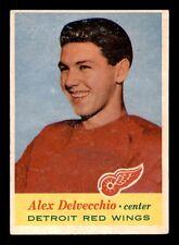 ALEX DELVECCHIO 57-58 TOPPS 1957-58 NO 34 VGEX+ 15525