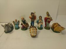 Holiday 8 Piece Resin Nativity Set Christmas Decoration ch1177