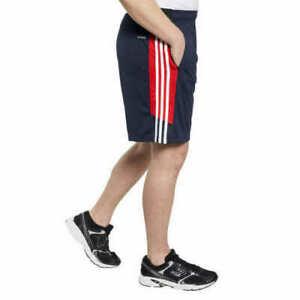 NWT adidas Men's Shorts with Zipper Pockets ~NAVY~LRG