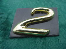 "FORMULA BOAT ""GOLD "" EMBLEM  NUMBER "" 2 "" HULL SIDE DASH  RARE NEW, GENUINE"