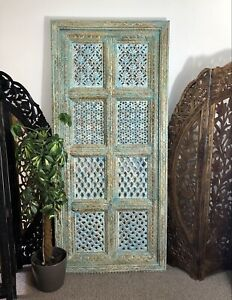 Antique Indian Carved Jali Wall Panel, Screens, Home And Living, Home Decor
