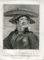 Shrimps Engraving Of A Original Of William Hogarth By Francesco Bartolozzi