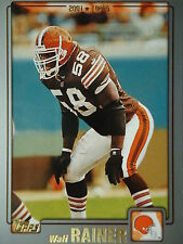 NFL 305 Wali Rainer Cleveland Browns Topps 2001