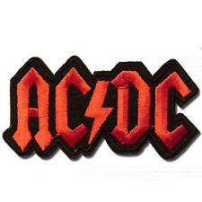 AC/DC Embroidered Sew Iron on Patch Badge Punk Rock Metal 027