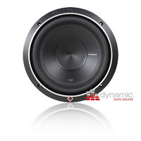 "RockFord Fosgate P2D2-10 Stage 2 Sub 10"" DVC 2-Ohm Punch Car Subwoofer 600W New"