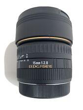 Mint - Sigma 15mm F2.8 DG Fisheye For Canon EF