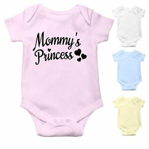 Mommy's Princess   Cute Baby Grow   Baby Bodysuit Baby Vest   Baby Girl Gift
