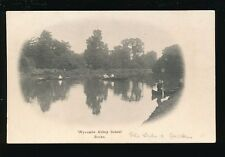 Bucks Buckinghamshire WYCOMBE ABBEY School Rowing & punting pre1919 PPC