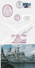 USS CHANCELLORSVILLE CG 62 CRUISER A SHIPS CACHED COVER & SMALL MAG PICTURE