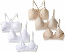 NEW Barely There Womens Custom Flex Fit Wirefree Bra Bundle 4085 4546 X741 Small
