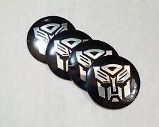 Auto Wheel Center Caps Emblem Transformer Autobot 56mm Badge Decal Sticker