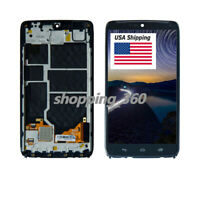 For Motorola Droid Turbo XT1254 XT1225 LCD Screen Digitizer Touch+Frame USPS