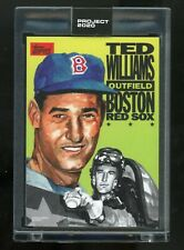 Topps Project 2020 Ted Williams by Jacob Rochester #262 In Hand PR Only 2,219! 6