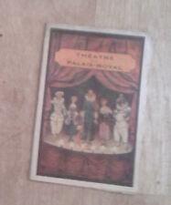 Théâtre du Palais-Royal. Hercule à Paris. Programme. Jean Gabin.