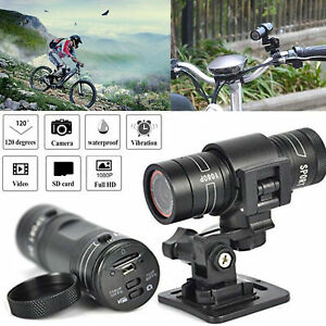 Waterproof Bike Car Recorder for Outdoor Wilderness Mountain Mini Action DVR Video Cam Bicycle Helmet Camera Motorcycle Video DV Camcorder Car Video Recorder HD 1080p Sports Action Camera